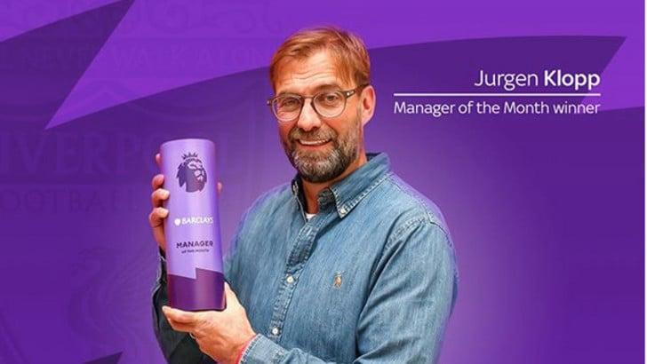 Klopp allenatore del mese: il suo Liverpool è da record
