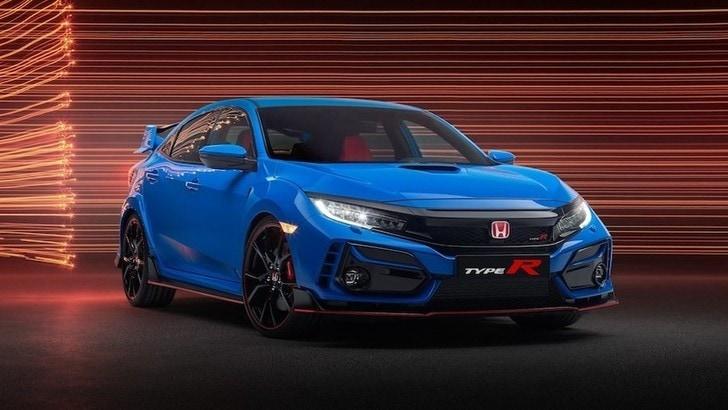 Honda Civic Type R restyling, coinvolti assetto e freni