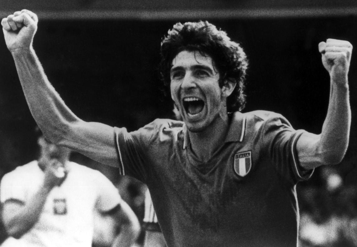 Paolo Rossi, dalla Juve al Mundial '82: le foto più belle