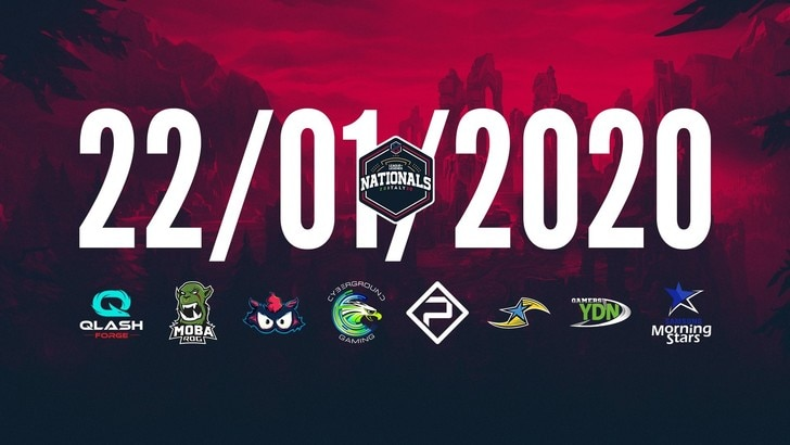 PG Nationals 2020 il via alla competizione nazionale