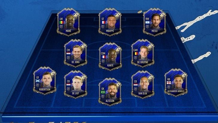 TOTY 2020: ecco i migliori 11 di Fifa Ultimate!