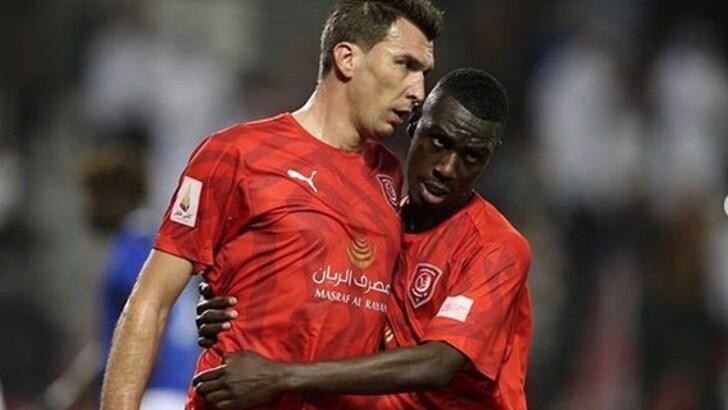 L'Al Duhail si impone 2-0. A segno Mandzukic, ma niente sorrisi