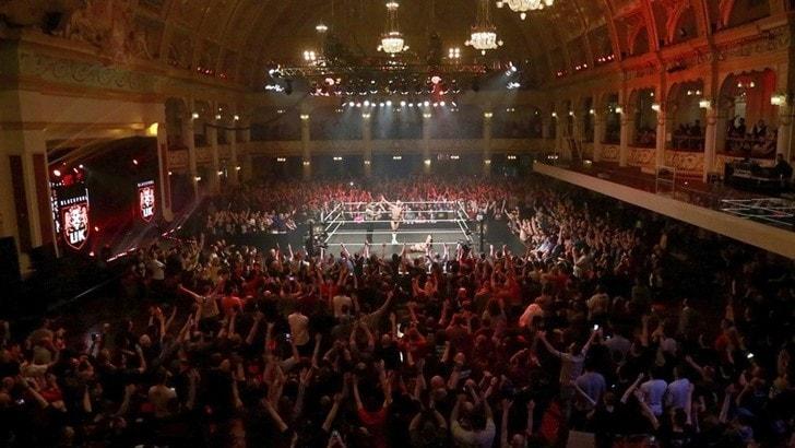 Wrestling WWE, Fabian Aichner prova a fare la storia a Blackpool
