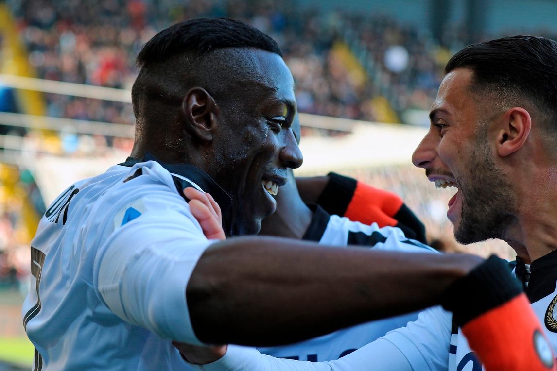 Udinese show con il Sassuolo: Gotti batte De Zerbi