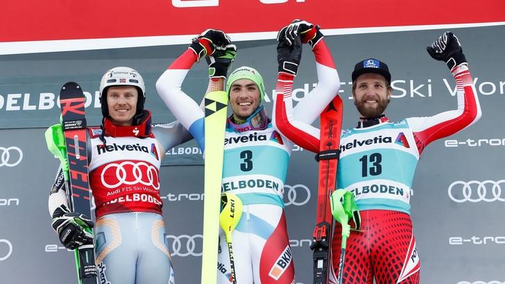 Yule vince ancora: lo slalom di Adelboden è suo. Azzurri attardati