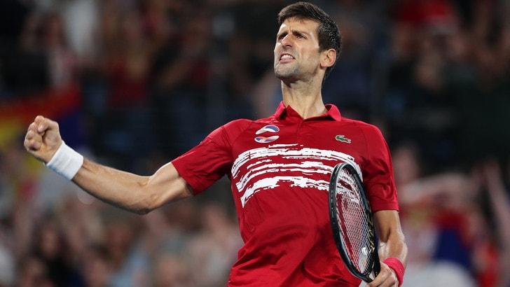 Atp Cup, la Serbia di Djokovic vince la finale contro la Spagna