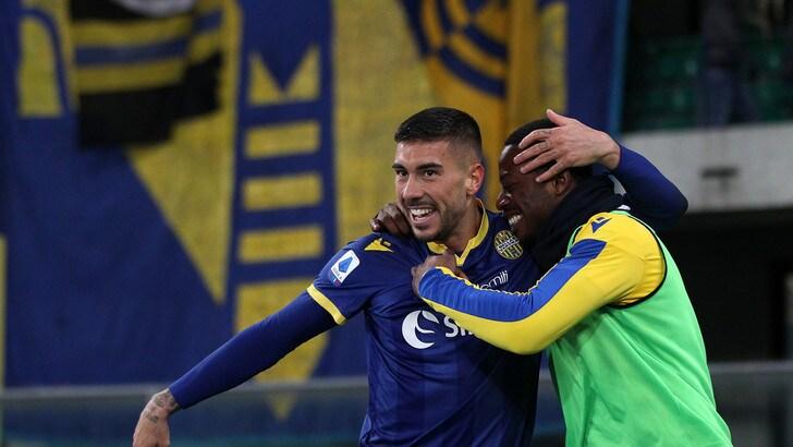 Verona-Genoa 2-1: decidono Verre e Zaccagni, Juric a -4 dall'Europa