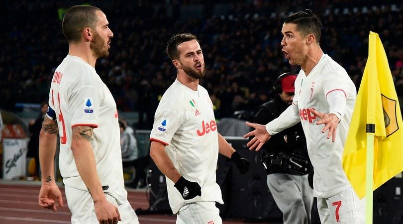 Serie A, Roma-Juve 1-2: bianconeri Campioni d'inverno, Sarri a +2 sull'Inter