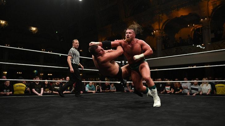Wrestling WWE, Blackpool amara per Fabian Aichner. Gran sorpresa finale