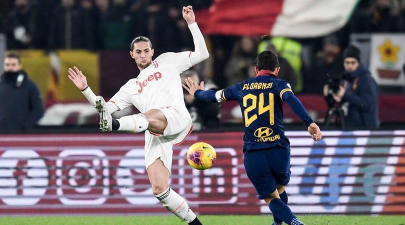 Roma-Juve, le pagelle: De Ligt gigante, Rabiot in crescita