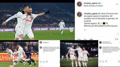 Juve campione d'inverno: la reazione social dei bianconeri dopo la vittoria contro la Roma