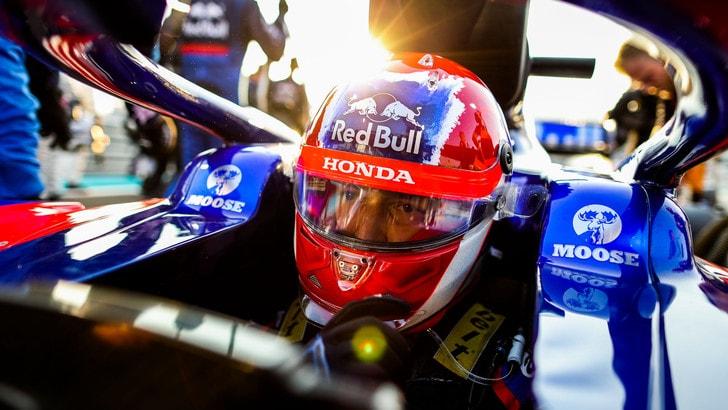 Kvyat e la seconda occasione in F1: