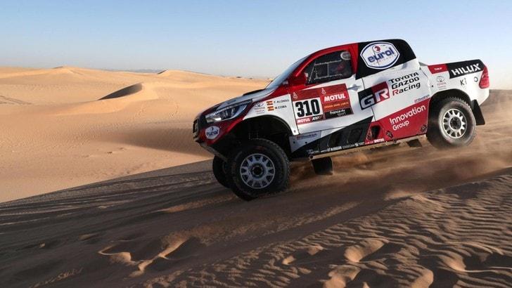 Dakar, Alonso sale in classifica