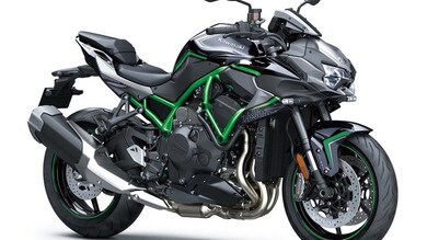 Kawasaki, a Motor Bike Expo anche la nuova ZH2