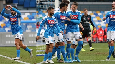 Napoli trascinato ai quarti da un super Insigne