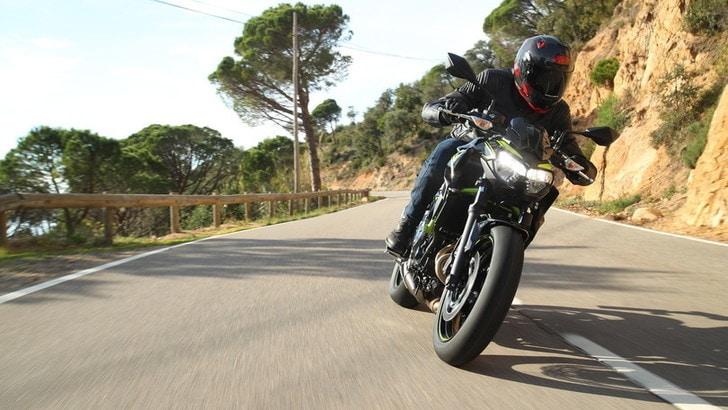 Kawasaki Z650 2020, nuova ma non troppo