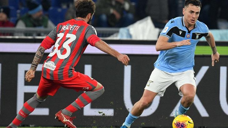 Coppa Italia Lazio-Cremonese 4-0, il tabellino