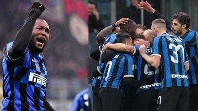 Inter, poker al Cagliari in Coppa Italia: doppietta per Lukaku