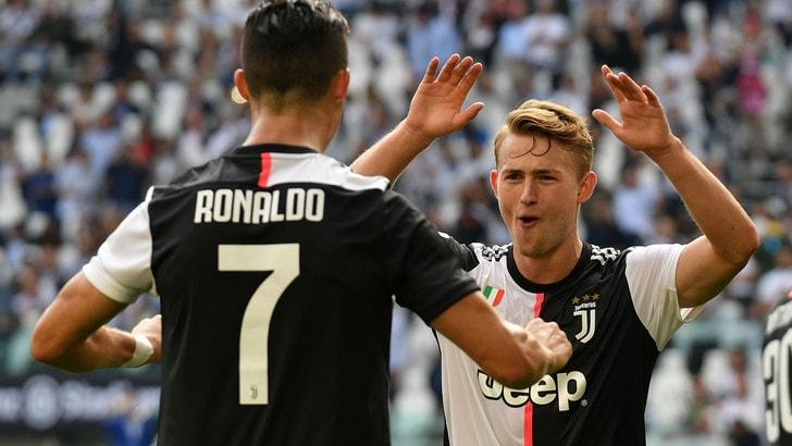 Uefa, Cristiano Ronaldo e De Ligt nella Top 11 del 2019