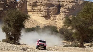 Dakar, Alonso si ribalta e perde terreno