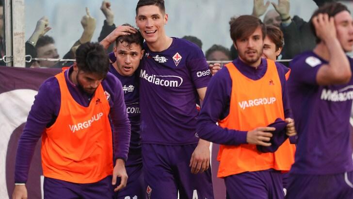 Fiorentina-Atalanta 2-1: segnano Cutrone e Lirola, Gasperini fuori dalla Coppa Italia
