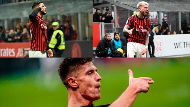 Piatek ritrova il gol. 3-0 del Milan alla Spal