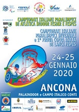 Paralimpici, ad Ancona di Campionati Atletica Indoor e Invernali Lanci