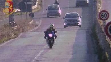 In moto a 210 Km/h in tangenziale, multa salata e scuse agli agenti