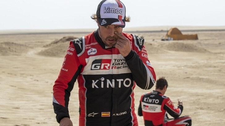 Dakar, Alonso dopo l'incidente: