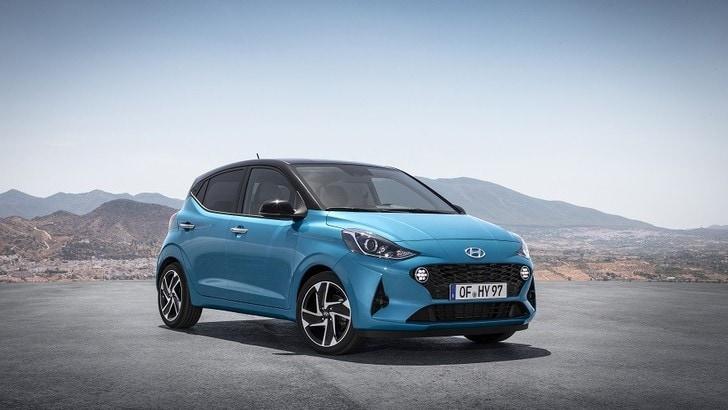 Hyundai i10, la prima prova
