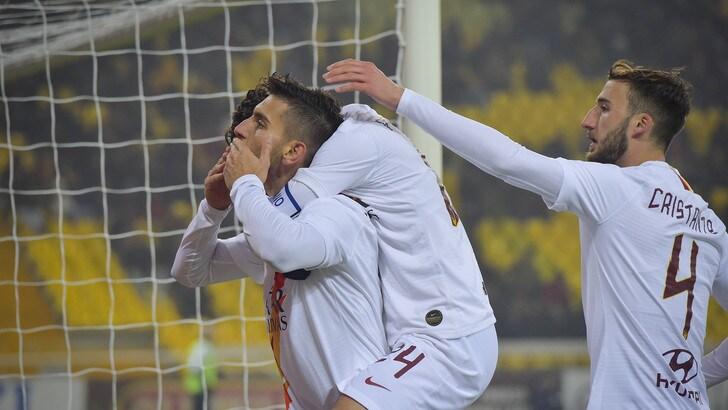 Coppa Italia, ai quarti sarà Juve-Roma: Pellegrini stende il Parma