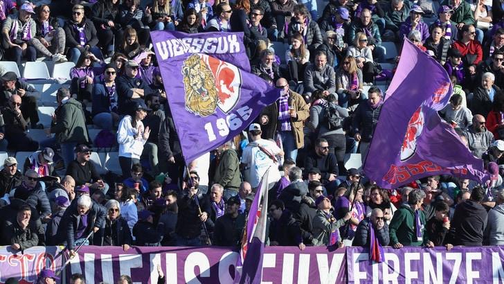 Fiorentina, 5.000 euro di multa per i cori a Gasperini in Coppa Italia