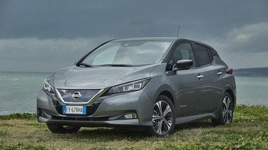 Nissan Leaf e+, viaggi senza preoccupazioni