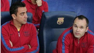 Xavi e Iniesta, la coppia meraviglia sogna la panchina del Barça: «Un giorno, insieme»