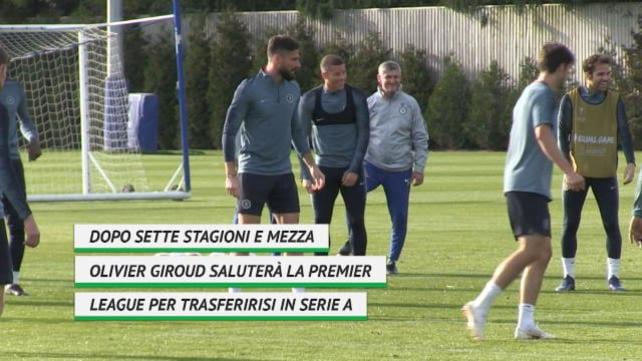 Inter, ecco i numeri di Giroud in Premier League