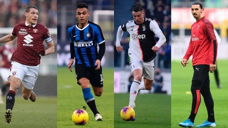 Tutte le probabili formazioni della 20ª giornata di Serie A