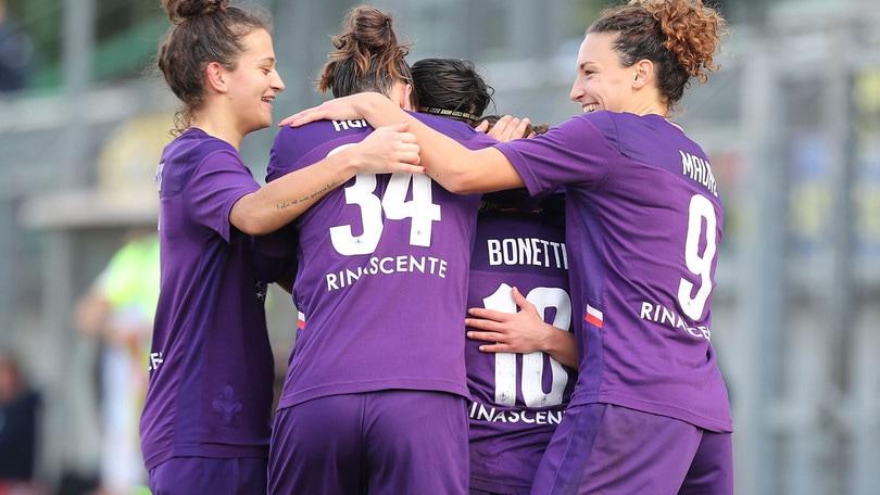 La Juve batte l'Empoli a domicilio, la Fiorentina ne fa 6 al Florentia