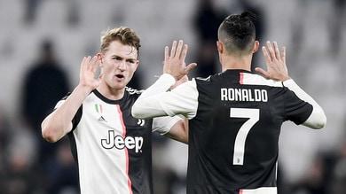 """De Ligt: """"Cristiano Ronaldo è il più forte. Alla Juve sono cresciuto molto"""""""