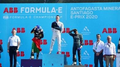 Formula E, ePrix Cile, Guenther all'ultimo giro batte Da Costa