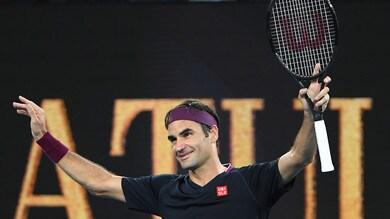 Australian Open, Federer senza problemi: battuto 3-0 Johnson