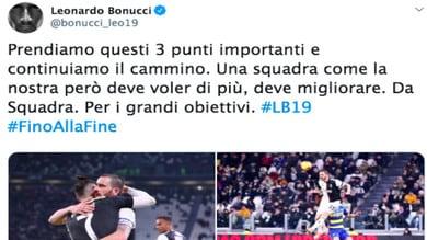Juve, Bonucci non si accontenta: