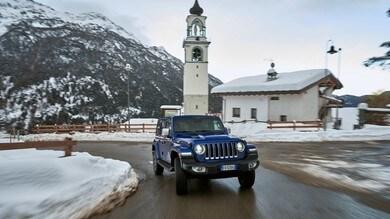 Jeep Wrangler Sahara Unlimited: gli scatti