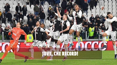 Juventus, che record in Europa!
