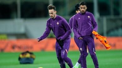 Fiorentina, seduta a porte aperte: tifosi in festa