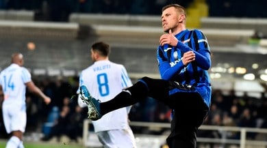 Il tacco di Ilicic e il forcing finale non bastano all'Atalanta. La Spal vince 2-1