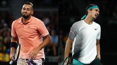 Australian Open, Sonego eliminato da Kyrgios al primo turno