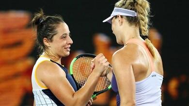 Australian Open, la Cocciaretto eliminata dalla Kerber
