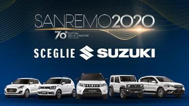 Suzuki auto ufficiale di Sanremo 2020: gli scatti