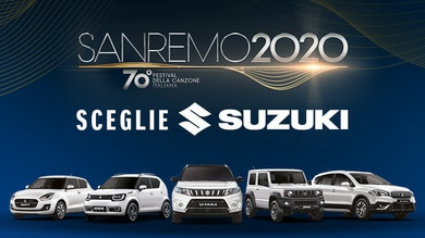 Suzuki al Festival di Sanremo 2020 con la gamma Hybrid