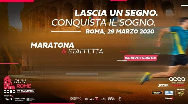 Aperte le iscrizioni della Run Rome The Marathon